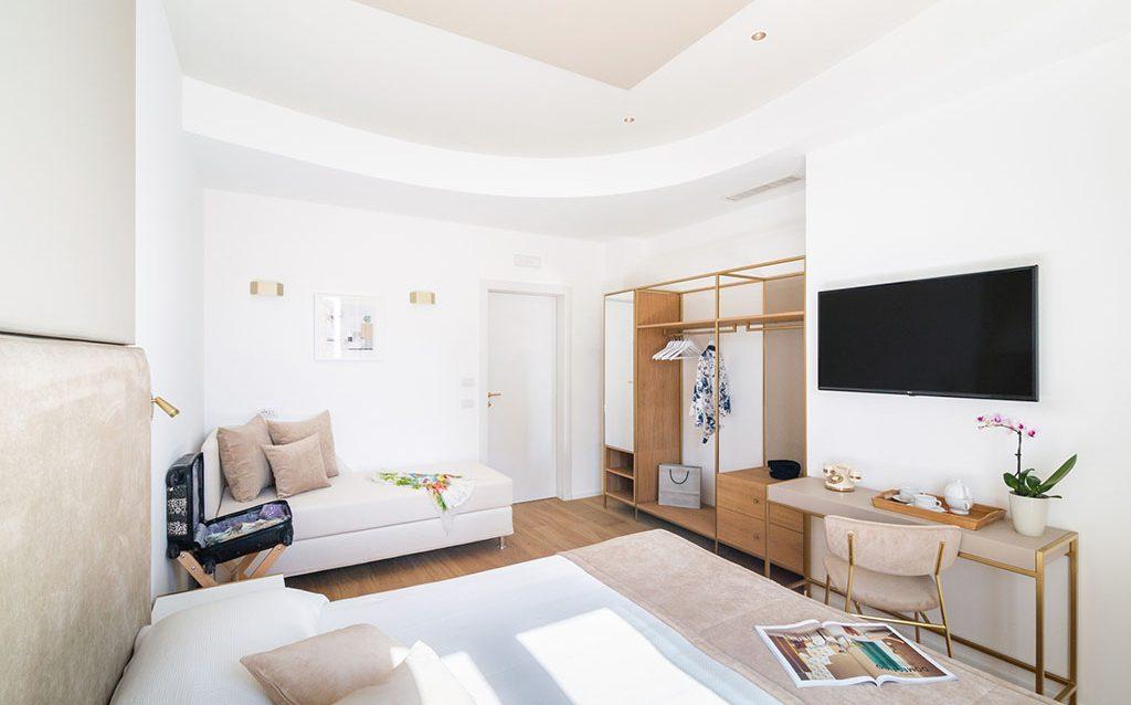 Hotel Aristeo camera deluxe