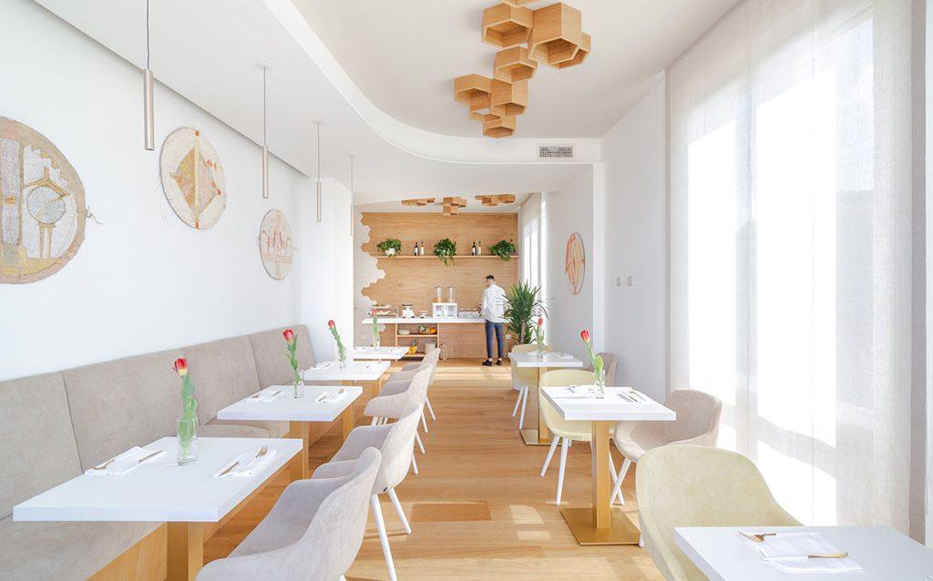 Hotel Aristeo sala ristorazione